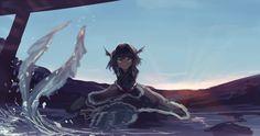 わかさぎ姫 #深夜の真剣お絵描き60分一本勝負 Spaceship Art, Monster Girl, Mythical Creatures, Mermaid, Space Ship, Projects, Anime, Magic, Character