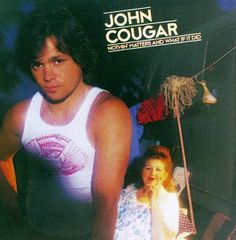 ...i saw him back when he was john cougar, saw him when he became john cougar mellencamp, and saw him perform as john mellencamp. names change, the voice stays the same. this is one of my very favorite albums.