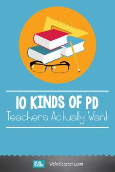 10 Kinds of PD Teachers Actually Want. Hundreds of hours are lost every year to ineffective professional development. Here's the PD teachers want to see from school leaders. School Leadership, Educational Leadership, Leadership Coaching, Educational Games, Educational Technology, Teacher Education, New Teachers, Bored Teachers, Primary Education