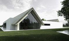Wedding House by Tamizo Architects Group.