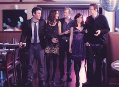 #HowIMetYourMother! Ted Robin Barney Lily and Marshall :)