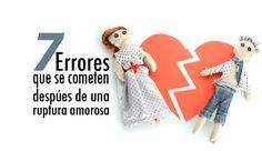 ... 7 errores que se cometen después de una ruptura amorosa. http://www.elartedesabervivir.com/index.php?content=articulo&id=344