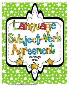 Just posted...teach subject/verb agreement all year long with these printable bookmarks and worksheets. The bookmarks are designed to be used during independent reading time and can be reused to find subject/verb agreement while reading! Assess students' grammar knowledge while they are enjoying reading:)