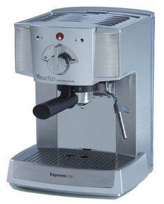 Espressione Café Minuetto Professional Thermoblock Espresso Machine, Silver (Certified Refurbished)