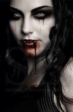 vampire version of Amy Lee Vampire Love, Female Vampire, Gothic Vampire, Vampire Art, Dark Gothic, Gothic Art, Vampire Stories, Vintage Gothic, Dark Fantasy Art
