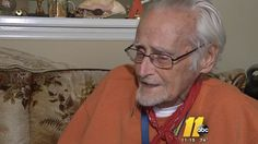 81 y/o Vet calls 911 because he's hungry.  How sad -- he probably has access to expensive cancer care, but can't get food.