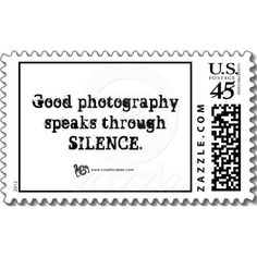 Silent Photography Quote stamps