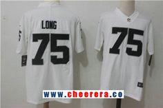 Men's Oakland Raiders #75 Howie Long White 2017 Vapor Untouchable Stitched NFL Nike Limited Jersey