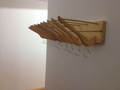 Picture of Recycled Coat Hanger Coat Rack
