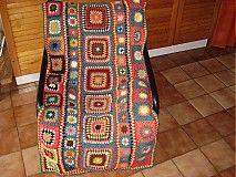 Úžitkový textil - Deka Frída - 3217421 Textiles, Bohemian Rug, Blanket, Rugs, Crochet, Farmhouse Rugs, Ganchillo, Blankets, Fabrics