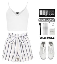 """Try to stay smart but the dumb comes out"" by themusiccookie ❤ liked on Polyvore featuring L.A. Colors, Topshop, Vans, Gucci, Byredo and Polar"