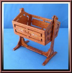 Miniature Swinging Cradle