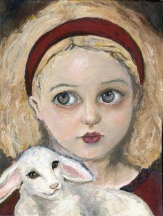 Marry had a little Lamb by annoraanne.deviantart.com on @deviantART