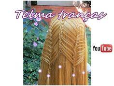 Trança Torre (bím tóc, trenzas faciles, easy braids, kepang, blethi, pramiky, zöpfre, pletenice) - YouTube