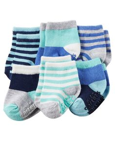 Baby Boy 6-Pack Socks | Carters.com