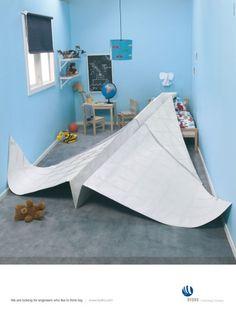 paper plane creative job ad