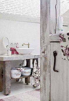 MonMon Shabby Chic, Country style. Bathroom.