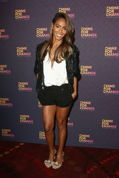 Jada Pinkett Smith sexy | On The Scene: Gucci's Chime For Change: The Sound Of Change Live ...