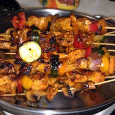 Chicken Kabobs recipe - allthecooks.com