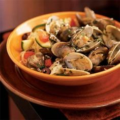 Sautéed Clams Parmesan from Cooking Light