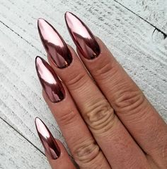 Silver With Gems Hand Painted False Fake Nails Long Tapered Square 045 Artificial Nail Tips