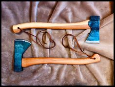 Vintage Norlund Tomahawk and Gransfors Bruk Small Forest Axe @Black-Axe
