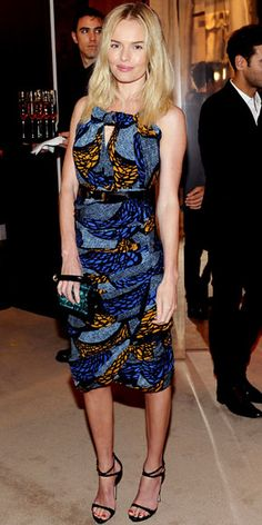 Kate Bosworth in Burberry Prorsum from #InStyle