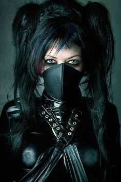 What Are The Best Places To Find Gothic Fashion Accessories? Cyberpunk Girl, Cyberpunk Fashion, Gothic Art, Gothic Girls, Dark Beauty, Gothic Beauty, Steampunk Fashion, Gothic Fashion, Fetish Fashion