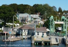 Peaks Island Maine. One of the many islands of Maine -