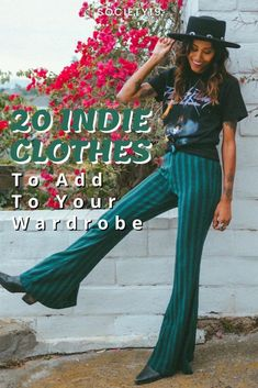 20 Indie Clothes To Add To Your Wardrobe