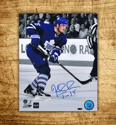 Tomas Kaberle #Toronto #Maple #Leafs #Spotlight Autographed 8x10 Photo #Hockey #Collectibles CoJo Sport Collectables