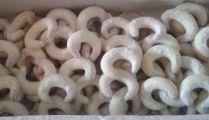 Vanilkové rohlíčky - bez lepku a ořechů