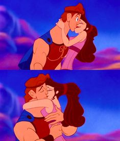 Day 19 - moment that makes you happy - When Hercules and Meg end up together. Awwwww