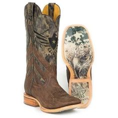 f906234005e Men s Tin Haul Sergeant At Arms Boots With Screaming Eagle Sole Cowboy Boot  Outfits