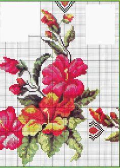 ENCANTOS EM PONTO CRUZ: Mais Flores em Ponto Cruz