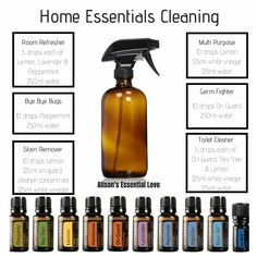 Natural, safe, and non-toxic cleaning recipes with the best essential oils on th. - Natural, safe, and non-toxic cleaning recipes with the best essential oils on the planet. Check out - Essential Oil Spray, Essential Oils Cleaning, Best Essential Oils, Essential Oil Blends, Clean With Essential Oils, Essential Oil Cleaner, Essential Oil Beginner, Best Essential Oil Diffuser, Limpieza Natural