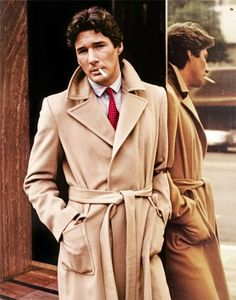"""Your Daily Vintage inspiration.  Richard Gere on the film """"American Gigolo"""" dressed by Armani.  It's 1980"""
