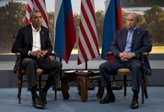 Obama, Putin Butt Heads Over Russia's Threats to Invade Ukraine