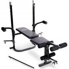 Hardcastle Banc de Gym Plat