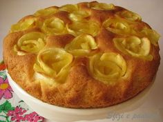 torta con rose di mele