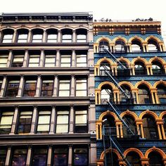 Gingerbread Houses - Broadway - New York City by Vivienne Gucwa, via Flickr