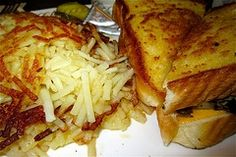 Homemade Restaurant Quality Hash Browns.  Crispy on the outside and creamy delicious on the inside