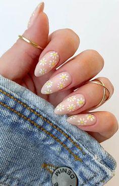 Cute Gel Nails, Chic Nails, Stylish Nails, Swag Nails, Trendy Nail Art, Cute Spring Nails, Pretty Nails For Summer, Nagellack Design, Nail Designs Spring