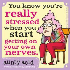Aunty Acid by Ged Backland Thursday, October 2014 Aunty Acid, Haha Funny, Funny Jokes, Hilarious, Lol, Funny Stuff, Funny Things, Funny Minion, Funniest Things