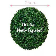 buchinho buxinho artificial 25cm bola grama decoração festa