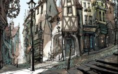 MICHEL BRETON The Box Trolls - Concept art