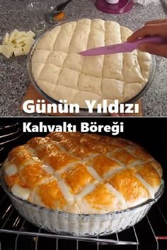 Yummy Snacks, Snack Recipes, Dessert Recipes, Desserts, Bread Machine Recipes, Breakfast Items, Bakery Recipes, Turkish Recipes, Food Humor