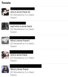 The Internet Responds To Justin Bieber And Anne Frank.... Wow, this is sad...I've lost faith in humanity.