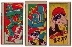 Japanese Menko cards