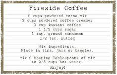 Delightful Order: Fireside Coffee Gift Idea
